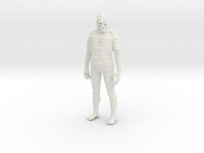 Printle V Homme 1625 - 1/28 - wob in White Natural Versatile Plastic
