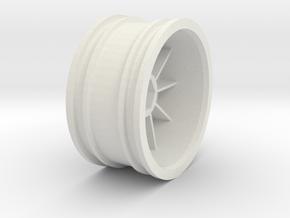 959-rim - TT01 in White Natural Versatile Plastic