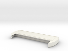 Bed Extension -12 In. Wheelbase for RC4WD Blazer  in White Strong & Flexible