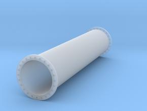 Rohrleitung 1000mm x 5000mm - TT 1:120 in Smooth Fine Detail Plastic