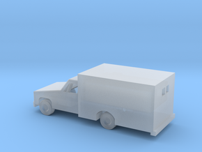 1/160 ScaleAmbulance in Smooth Fine Detail Plastic