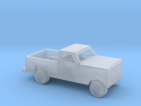 1/160 Scale Dodge Pickup in Smooth Fine Detail Plastic