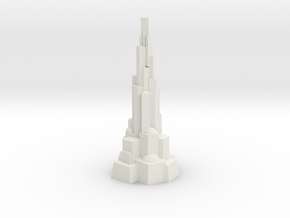 The galactic centre Hive City in White Natural Versatile Plastic