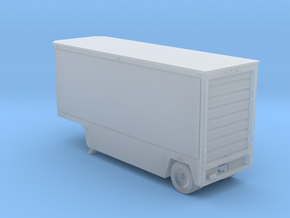 Drop Deck 28 Foot Trailer 1-87 HO Scale in Smooth Fine Detail Plastic