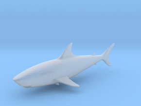 S Scale shark in Smooth Fine Detail Plastic