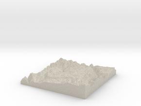 Model of Laz in Natural Sandstone