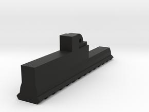 AUG High Cycle Bottom Picatinny Rail (13-Slots) in Black Premium Versatile Plastic