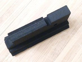 Lower Rail for AUG (6-Slots) in Black Natural Versatile Plastic