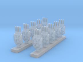 Iron Cross Turrets in Frosted Ultra Detail
