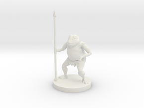 Bullywug - Spearman in White Natural Versatile Plastic