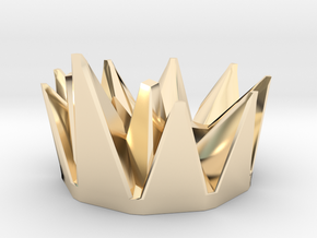 Grimlock Crown for Power of the Primes in 14k Gold Plated Brass