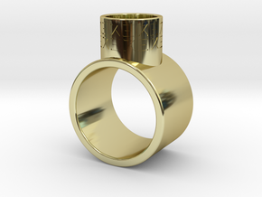 Ring inspired by Supreme Leader Snoke in 18k Gold Plated Brass
