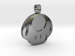 Toad  [pendant] in Polished Silver