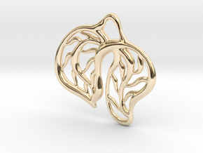 Leaves in 14K Yellow Gold