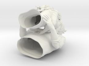 yuunoa prototype hollow figure in White Natural Versatile Plastic