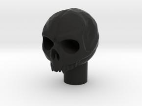 skull gear shifter in Black Natural Versatile Plastic