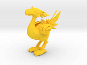 CHOCOBO HIGH POLYGON in Yellow Processed Versatile Plastic