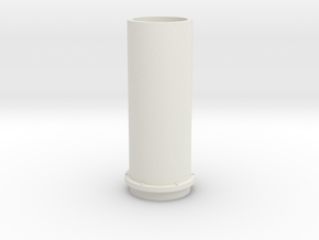 NS 6400 Uitlaat. Scale 1 (1:32) in White Natural Versatile Plastic