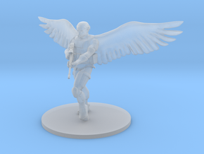 Saint Michael, Archangel of the Airborne in Smooth Fine Detail Plastic