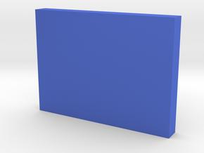 Darth Vader Chest Box Button in Blue Processed Versatile Plastic