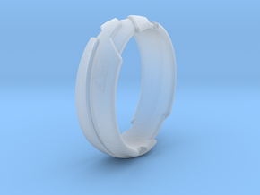 GD Ring - Edge in Smooth Fine Detail Plastic: 1.5 / 40.5