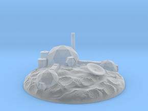 The Asteroid Mining Base (large version)! in Smooth Fine Detail Plastic
