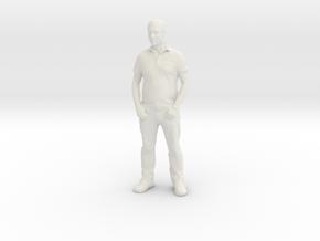 Printle F Olivier Besancenot - 1/18 - wob in White Natural Versatile Plastic