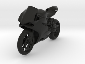 Ducati Panigale in Black Natural Versatile Plastic