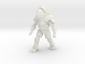 Unarmed Fauxgan in White Natural Versatile Plastic