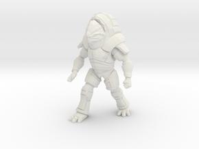 Unarmed Fauxgan in White Natural Versatile Plastic