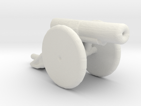 bl 6 inch 30 cwt howitzer 1/285 in White Natural Versatile Plastic