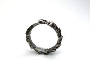 Game of Thrones Dragon Ring in Polished Nickel Steel
