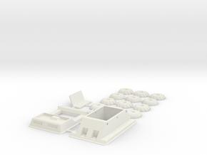 MoonBuggy1-48 in White Natural Versatile Plastic: 1:48 - O