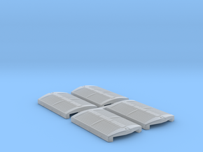 N U36B Flared Radiator (4 Pack) in Smooth Fine Detail Plastic