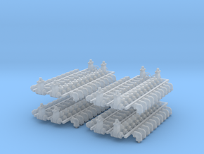 """1:48 - 4"""" Pipe Fittings - 176 pcs in Smoothest Fine Detail Plastic"""