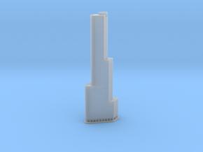 Trump International Hotel & Tower (1:2000) in Smooth Fine Detail Plastic