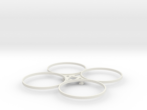 Estes Proto-X PapaGuard in White Natural Versatile Plastic