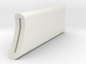 Ergo Kiwi Cap in White Natural Versatile Plastic
