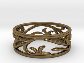 Delicate Ivy Ring in Natural Bronze: 5 / 49
