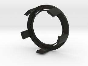 FlexRing for BluCon - No armband needed! in Black Premium Versatile Plastic