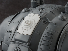 Mechanic - Carapace Hatch in Smoothest Fine Detail Plastic