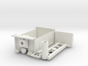 Rotary Dump Truck Kit 1-48 Scale in White Natural Versatile Plastic