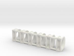 Fairleads 300x250 in White Natural Versatile Plastic: 1:50