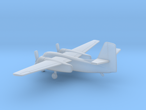Grumman S2-F Tracker in Smooth Fine Detail Plastic: 6mm