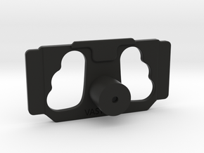 DJI Controller Phone / Tablet Mount Plate Insert in Black Natural Versatile Plastic