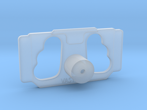 DJI Controller Phone / Tablet Mount Plate Insert in Smooth Fine Detail Plastic