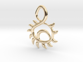 Sunset in 14K Yellow Gold