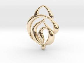 Touch of nature in 14K Yellow Gold