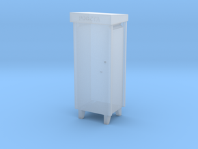 1:144- Polish City Type Pillar Letter-Box in Smooth Fine Detail Plastic