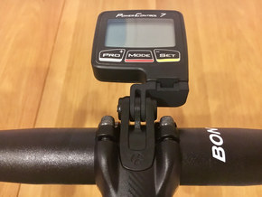 SRM Bontrager Blendr Mount in Black Natural Versatile Plastic